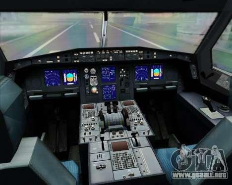 Airbus A330-300 Thai Airways International para GTA San Andreas interior