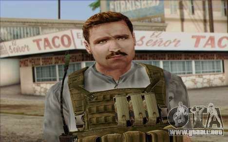Dixon from ArmA II: PMC para GTA San Andreas tercera pantalla