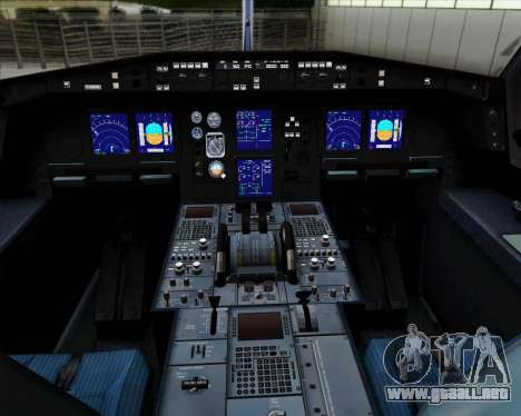 Airbus A330-300P2F Federal Express para GTA San Andreas interior