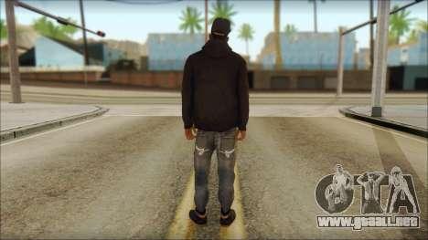 New Grove Street Family Skin v2 para GTA San Andreas