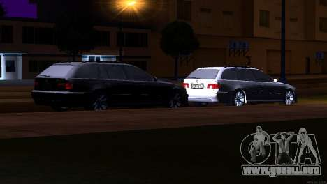 BMW 530d para vista lateral GTA San Andreas