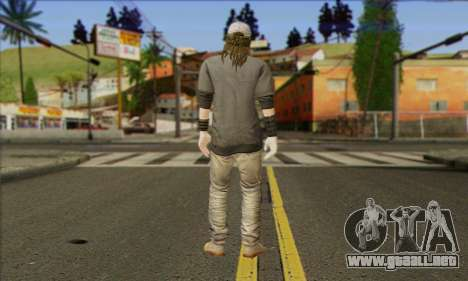 Raymond Kenney from Watch Dogs para GTA San Andreas segunda pantalla