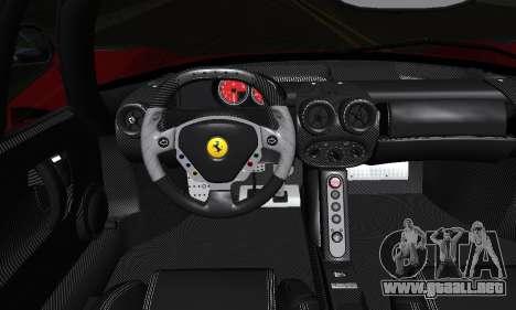 Ferrari Gemballa MIG-U1 para vista inferior GTA San Andreas