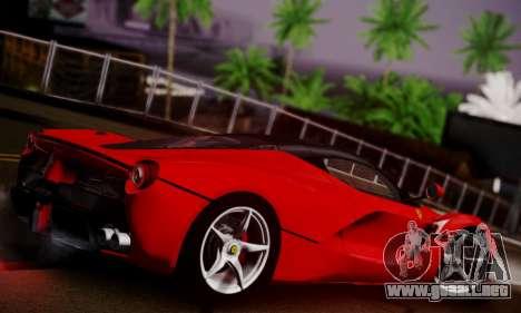 Ferrari LaFerrari F70 2014 para visión interna GTA San Andreas
