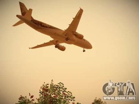 Airbus A320-214 LAN Airlines 100th Plane para el motor de GTA San Andreas