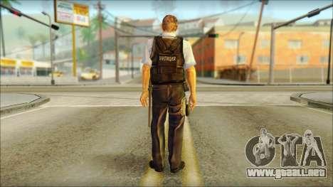 Un oficial de policía de la CT SC: la Condena para GTA San Andreas segunda pantalla