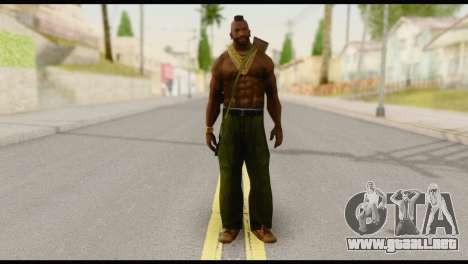MR T Skin v5 para GTA San Andreas