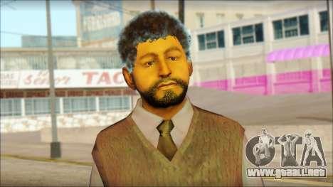 GTA 5 Ped 16 para GTA San Andreas tercera pantalla