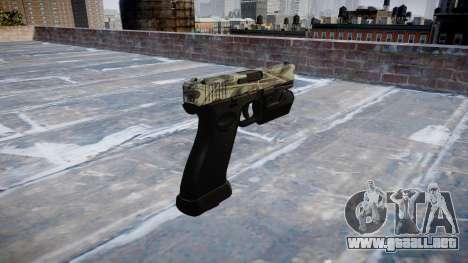 Pistola Glock 20 benjamins para GTA 4 segundos de pantalla