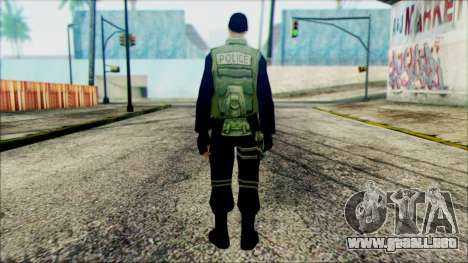 SWAT from Beta Version para GTA San Andreas segunda pantalla