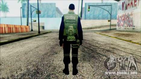 SWAT from Beta Version para GTA San Andreas segunda pantalla