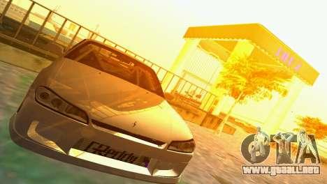 Nissan Silvia S15 TUNING JDM para GTA Vice City vista lateral izquierdo