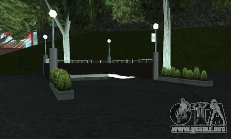 Una nueva estación de metro en San Fierro para GTA San Andreas quinta pantalla