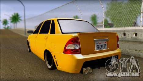 Lada 2170 Priora Hennessey Performance para GTA San Andreas left