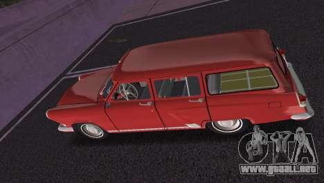 GAS 22 Volga 1965 para GTA Vice City vista interior