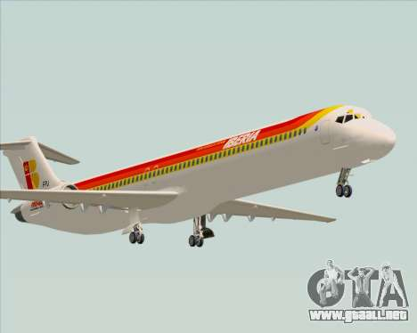 McDonnell Douglas MD-82 Iberia para GTA San Andreas