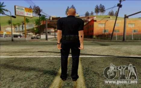 La policía (GTA 5) de la Piel 2 para GTA San Andreas segunda pantalla