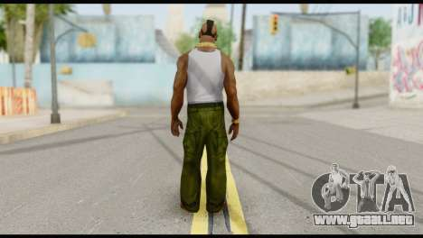MR T Skin v4 para GTA San Andreas segunda pantalla