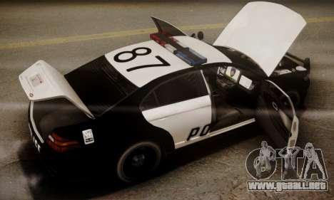 Vapid Police Interceptor from GTA V para el motor de GTA San Andreas