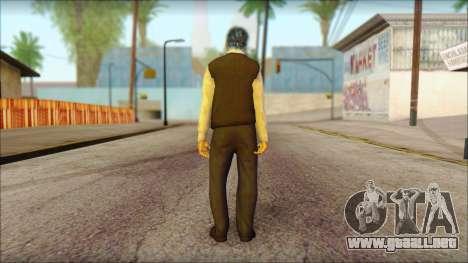 GTA 5 Ped 15 para GTA San Andreas segunda pantalla