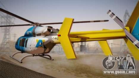 Bell 429 v2 para GTA San Andreas left
