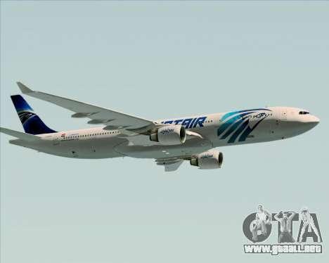 Airbus A330-300 EgyptAir para el motor de GTA San Andreas