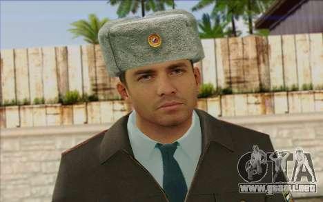 La Policía De Rusia De La Piel 3 para GTA San Andreas tercera pantalla