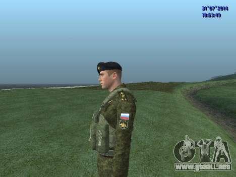 El Oficial De La Infantería De Marina para GTA San Andreas quinta pantalla