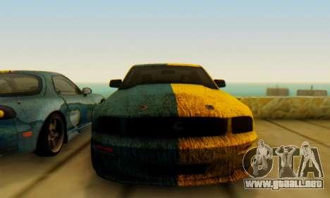 Ford Mustang Shelby Terlingua 2008 UA PJ para la visión correcta GTA San Andreas