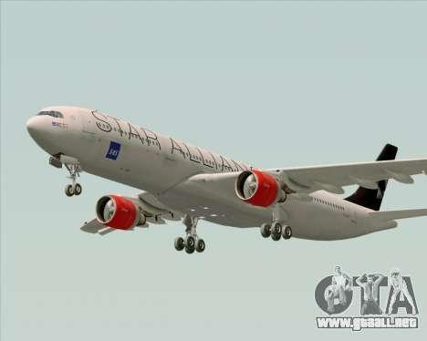 Airbus A330-300 SAS (Star Alliance Livery) para el motor de GTA San Andreas