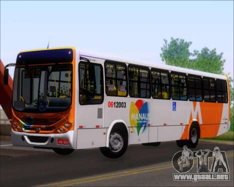 Marcopolo Torino 2007 Mercedes-Benz OF-1722M para GTA San Andreas left