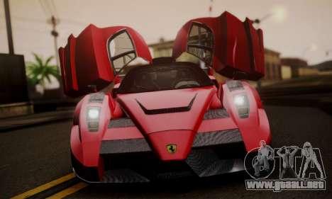 Ferrari Gemballa MIG-U1 para GTA San Andreas vista hacia atrás
