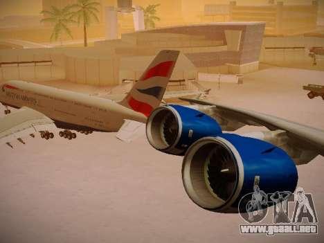 Airbus A380-800 British Airways para GTA San Andreas