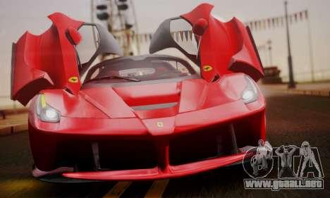 Ferrari LaFerrari F70 2014 para el motor de GTA San Andreas