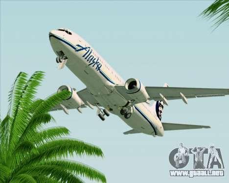 Boeing 737-890 Alaska Airlines para la vista superior GTA San Andreas