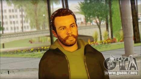 GTA 5 Ped 20 para GTA San Andreas tercera pantalla