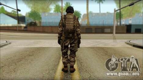 Los soldados de la UE (AVA) v5 para GTA San Andreas segunda pantalla