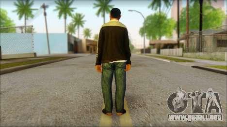 GTA 5 Ped 17 para GTA San Andreas segunda pantalla