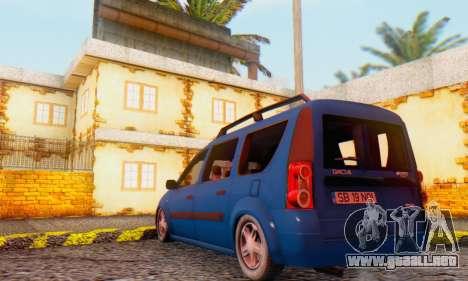 Dacia Logan MCV para la visión correcta GTA San Andreas