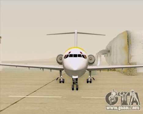 McDonnell Douglas MD-82 Iberia para GTA San Andreas interior