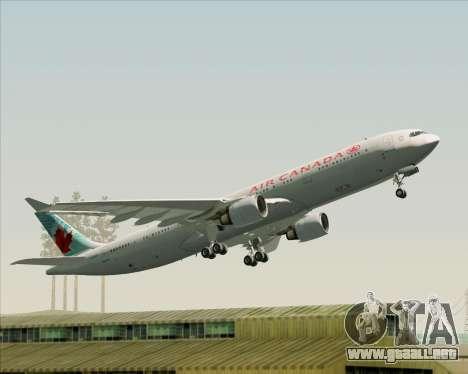 Airbus A330-300 Air Canada para el motor de GTA San Andreas