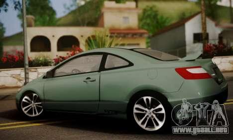Honda Civic SI 2006 para GTA San Andreas left