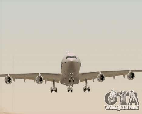 Airbus A340-311 House Colors para GTA San Andreas vista hacia atrás