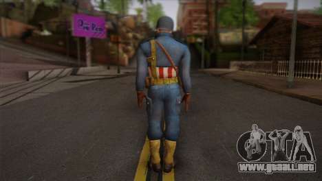 Captain America v2 para GTA San Andreas segunda pantalla