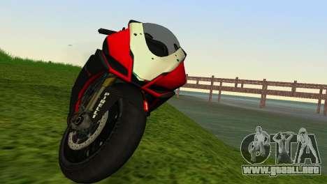 Aprilia RSV4 2009 Edition I para GTA Vice City visión correcta