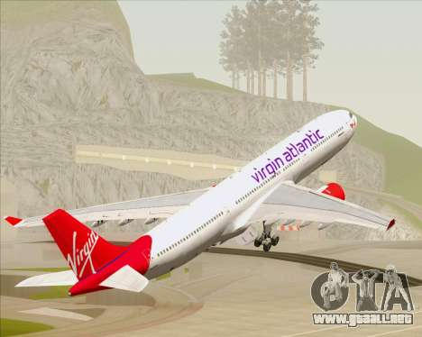 Airbus A330-300 Virgin Atlantic Airways para GTA San Andreas