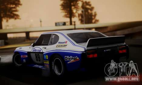 Ford Capri RS Cosworth 1974 Skinpack 2 para GTA San Andreas left