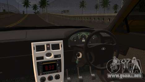 Lada 2170 Priora Hennessey Performance para GTA San Andreas vista posterior izquierda