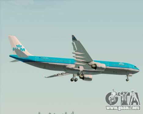 Airbus A330-300 KLM Royal Dutch Airlines para las ruedas de GTA San Andreas