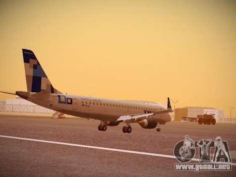 Embraer E190 TRIP Linhas Aereas Brasileira para la visión correcta GTA San Andreas